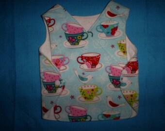 Preemie Baby 3-6 lbs.  Girls Tea Cups NICU gowns.