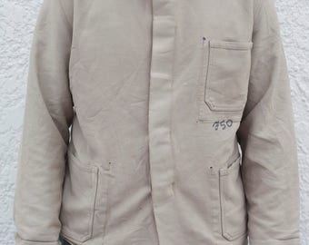 1950s European Work Jacket