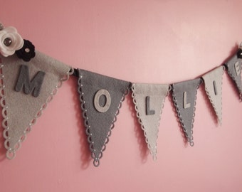 Custom Banner, Party Bunting, Party Banner, Party Garland, Personalised Bunting, Custom Bunting, Party Decorations, First Birthday,