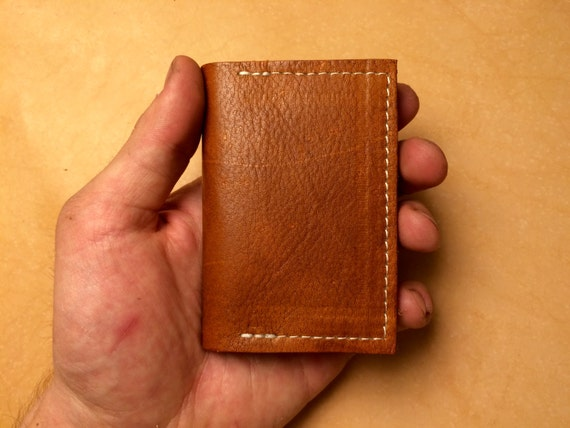 Leather Minimalistic Card Holder Wallet
