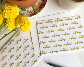 New York Taxi Greeting Card - NYC - Yellow Cab - New York Card