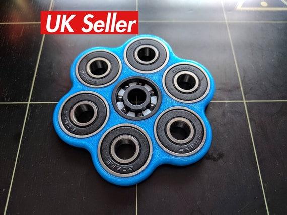 Ausmalbilder Fidget Spinner: Fidget Spinner 3D Spinner Hexagonal Impreso Spinner Fidget