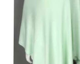 Womens cape poncho wrap