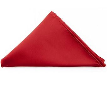 Custom Solid Color Pocket Square