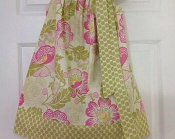 READY TO SHIP Poppies Pillowcase Dress Size 4