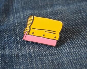 Squeegee Enamel Pin