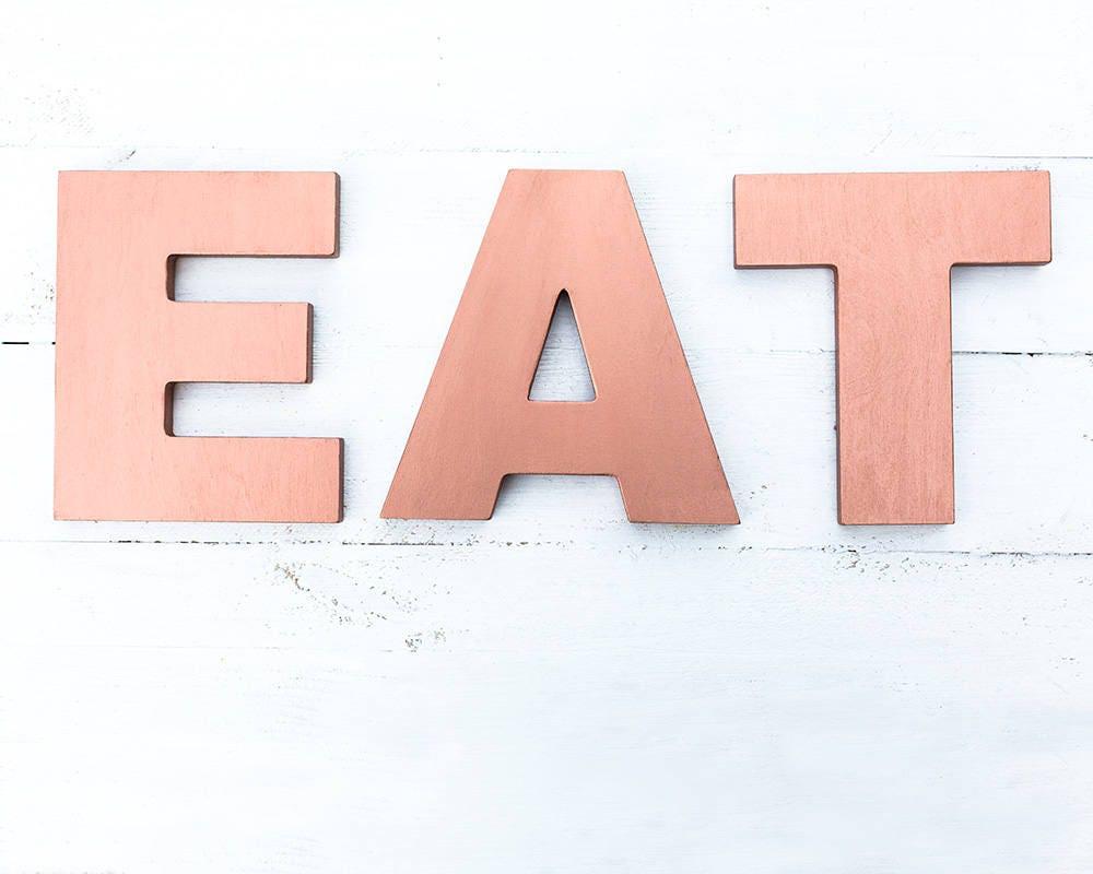 Erfreut Essen Buchstaben Für Die Küche Zeitgenössisch ...