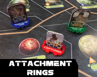 Star Wars: Rebellion Acrylic Attachment Rings