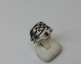 Ring Silver 925 friendship 19.2 mm SR678