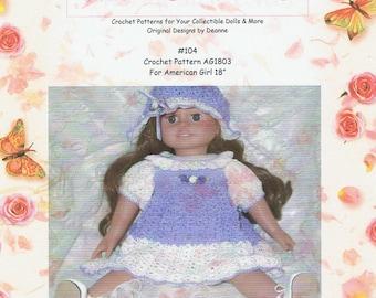 American Girl Crochet Pattern 104