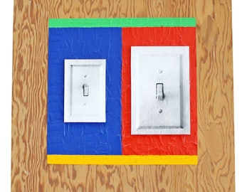 Contemporary Lucio Pozzi Hanging Wall Art Signed Titled
