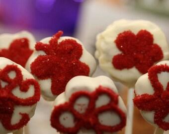 Flower Cake Pops 2