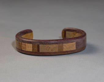 Wood Cuff Bracelet for Women