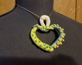 Tentacle Heart Pendant