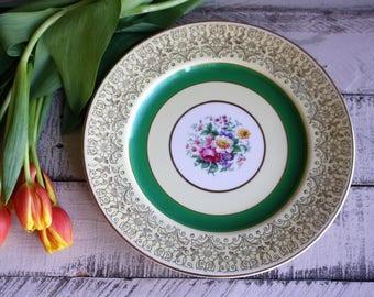 Vintage, Johnson Brothers, Dinner Plates, set of 6, Vintage Dinnerware, Vintage Tableware, China Plates, Floral Plates, English Dinnerware