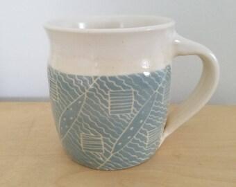 Hand Made Pottery Mug #21