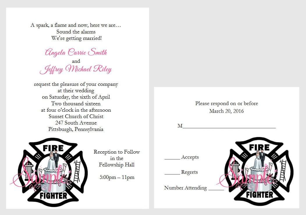 100 Personalized Custom Firemen Firefighter Cake Wedding
