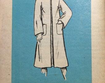 Anne Adams 4536 UNCUT mail order pattern ladies coat Size 18