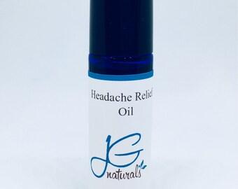 Natural Headache relief oil Pure essential oils