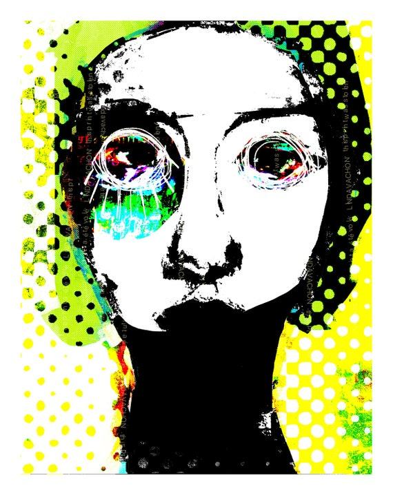 urban, fine art print, street art, linda v