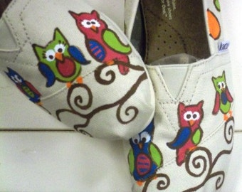 Whimsical Owl Toms