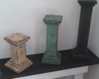 Candle Pillars / Candle Holders