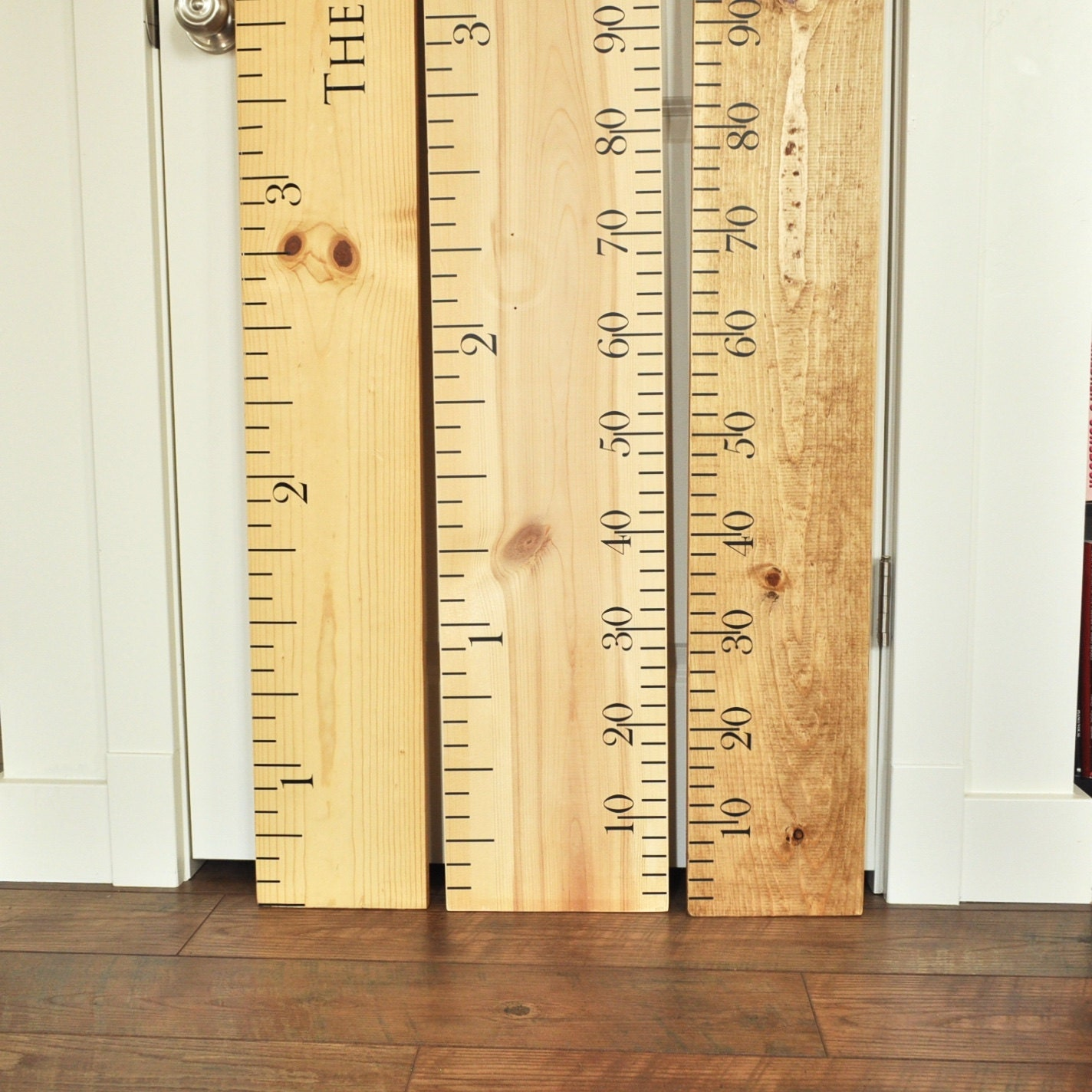Ruler growth chart kit diy project oversized wood ruler zoom nvjuhfo Gallery