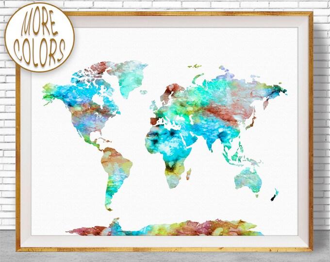 World maps mix world map wall art world print world map print world map poster office prints office art publicscrutiny Image collections