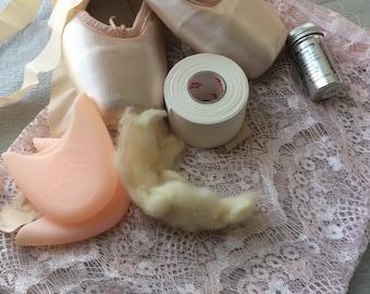 Lace Pointe Shoe Bag