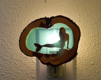 Blue Mermaid nightlight