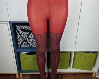 70's/80's striped tights sz S/M