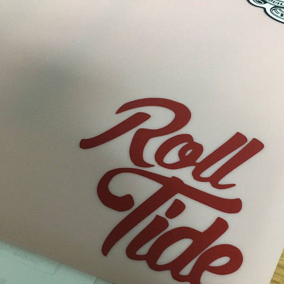 Alabama decal, football decal, Roll Tide decals, Alabama decals,  sports decals, yeti decals Football, Alabama football decals, stickers