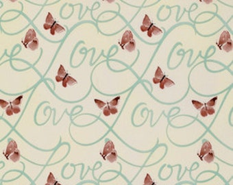 58006 -1/2 yard of Kathy Davis Enchantment  - First love in silver sage