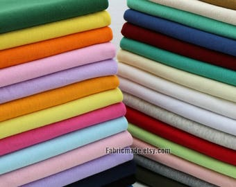 "42 Colors Light Ribbing- 7.8"" Length 20 x 150cm Ribbing and Binding Knit Fabric For Neckline, Cuffs, Hems"