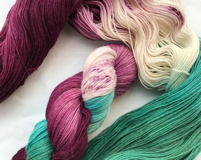 """Grafton"" 100g Superwash Merino / Alpaca / Nylon Yarn 4 ply"
