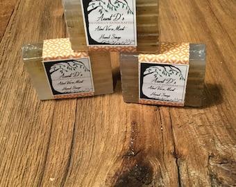 Handcrafted Aloe Vera Mint Soap