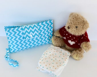 Nappy Wallet - Nappy Clutch - Diaper Wallet - Diaper Clutch - Baby Shower
