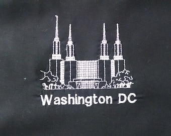 Embroidered Washington D.C. Temple