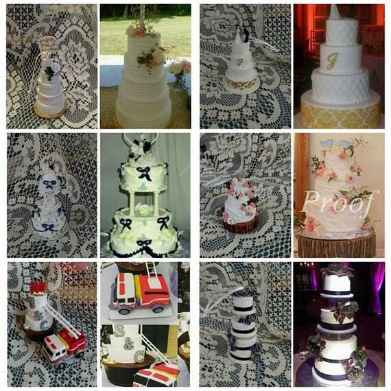 Miniature Wedding Cake Replica Ornament