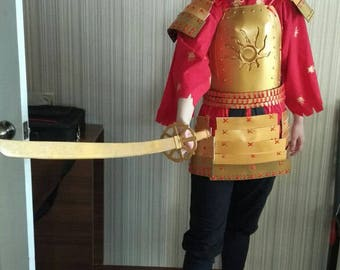 Kubo and the two strings cosplay  FULL SET costume kimono samisen guitar Craft