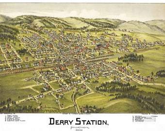 Derry Station Map