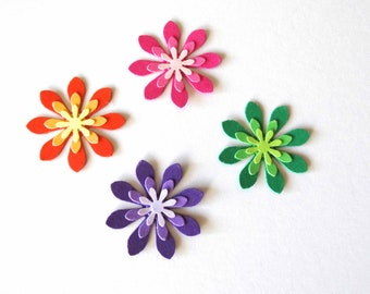 Flower Confetti, Garden Party, Spring Party, Wedding Confetti, Mod Theme, Bridal Shower, Birthday Party Decor