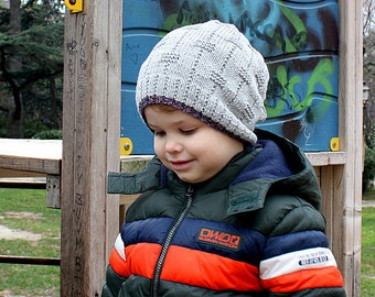 Knitting Pattern  Hat #1- Unisex  (pdf file) (sizes - toddler; child; adult)