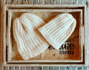 Heart stitch Hat