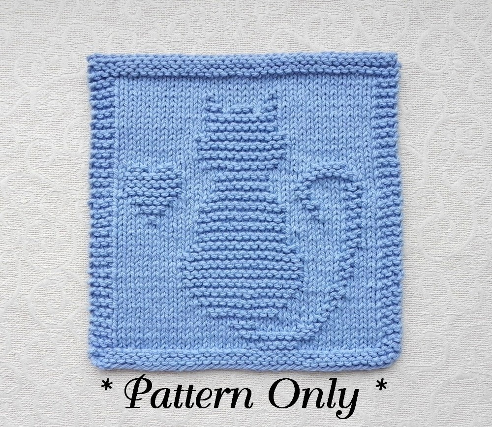 Magnificent Dishcloth Patterns Knit Mold - Easy Scarf Knitting ...