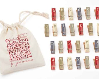 Clothespins Sets by Moda - Make, Make your Mark and For Good Measure