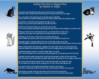 Healing Paws from a Magical Place - Printable Digital Download