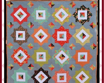 Pave the Way - PDF Quilt Pattern with 4 size options