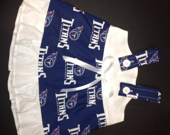 NFL Tennessee Titans Baby Infant Toddler Girls Dress  You Pick Size