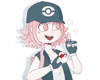 Pokemon trainer | Etsy
